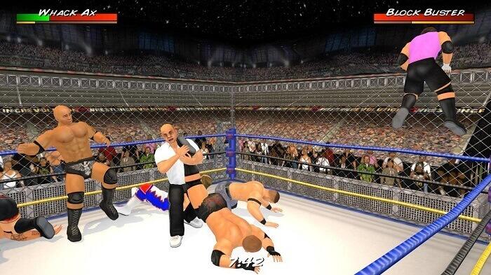 Wrestling Revolution 3D 01