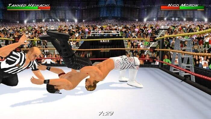 Wrestling Revolution 3D 02