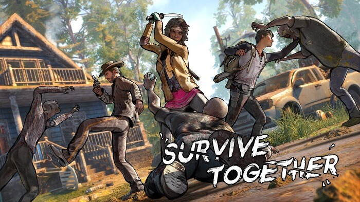 The Walking Dead Survivors 01